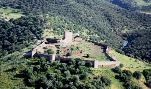 Castle of Noudar, in Barrancos